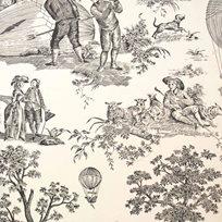 Charles Burger Ballon de Gonesse Tapet