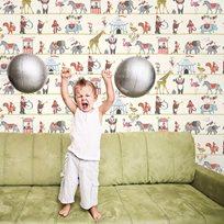 Övriga Designers Just 4 Kids II Cirkus Tapet