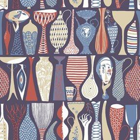 Boråstapeter Pottery