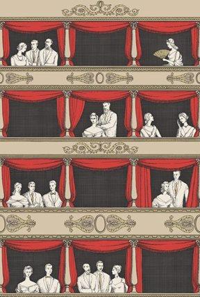 Fornasetti Teatro Tapet