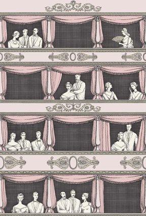 Fornasetti Teatro Ballet slipper