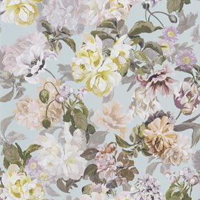 Designers Guild Delft flower Duck Egg Tapet