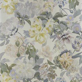 Designers Guild Delft flower Pewter Tapet