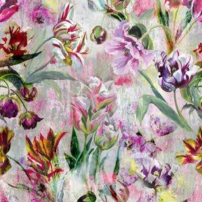 Designers Guild Tulipa Stellata Fuchsia Tapet