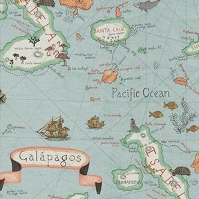 Sanderson Galapagos Tyg