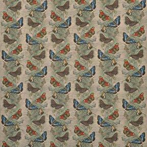 John Derian Butterfly Thistle Linen