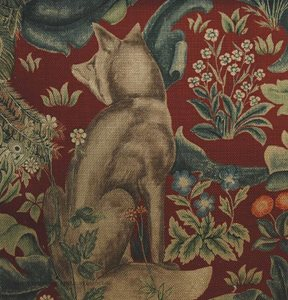 William Morris & co Forest Red Tyg