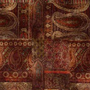 Mulberry Lomond Velvet Red/Plum