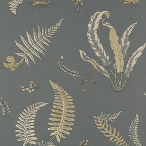 Baker Ferns Charcoal/Bronze