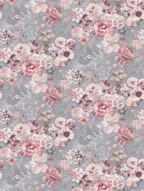 Jane Churchill Marble Rose Silver
