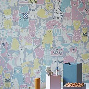 Renn Designs Cats Tapet
