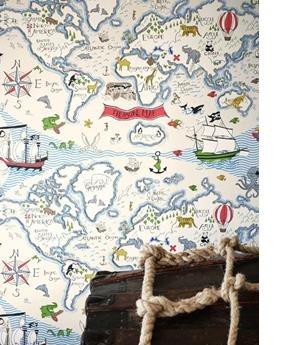 Sanderson Treasure Map