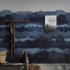Sandberg Midnatt Tapet