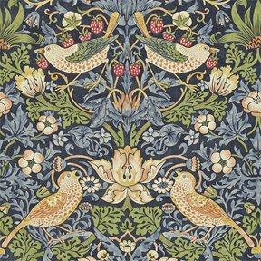 William Morris & co Strawberry Thief Tapet