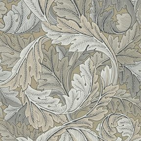 William Morris & co Acanthus Manilla/Stone