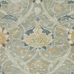 William Morris & co Montreal Grey/Charcoal Tapet
