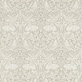 William Morris & co Pure Brer Rabbit Gilver Tapet