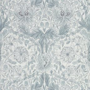 William Morris & co Pure Honeysuckle & Tulip Cloud Grey