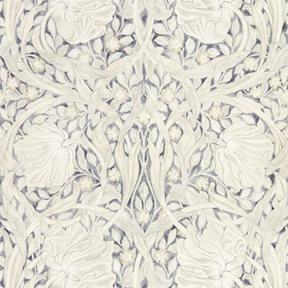 William Morris & co Pure Pimpernel Black Ink Tapet