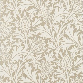 William Morris & co Pure Thistle Gilver (beaded)
