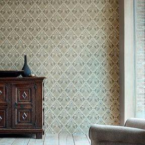 William Morris & co Pure Trellis Gold Tapet