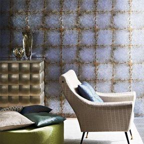 Zoffany Lustre Tile Silver
