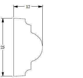 Orac Decor PX103 Vägglister