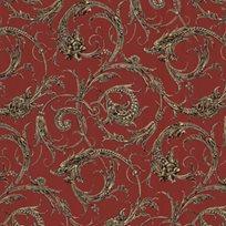 Lim & Handtryck Draktapeten Tapet