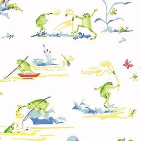 Thibaut Resort Frogs Tapet