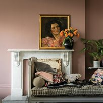 Farrow & Ball Sulking Room Pink 295 Färg