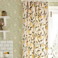 William Morris & co Lemon Tree Embroidery Tyg