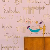 Coordonné Beautiful words, Flamingo