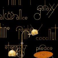 Coordonné Beautiful words, Onyx