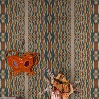Coordonné Isabella d´Este, Cactus Tapet