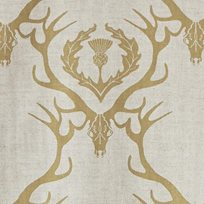 Barneby Gates Deer Damask Tyg