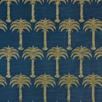 Barneby Gates Marrakech Palm Midnight Blue