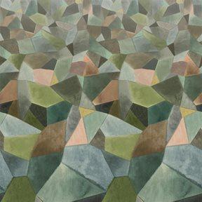 Designers Guild Geo Moderne Jade Tapet