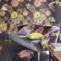 Designers Guild Le Poeme De Fleurs Midnight