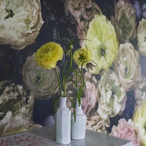Designers Guild Le Poeme De Fleurs Rosewood