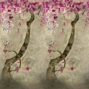 Designers Guild Shinsha Scene 2 Blossom