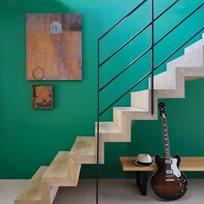 Farrow & Ball Verdigris Green Färg