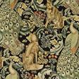 William Morris & co Forest Velvet Charcoal Tyg