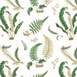 Baker Ferns chintz