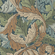 William Morris & co Acanthus Slate Blue/Thyme