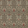 William Morris & co Snakeshead Charcoal/Spice Tapet