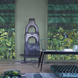 Designers Guild Arjuna Leaf with Peacock