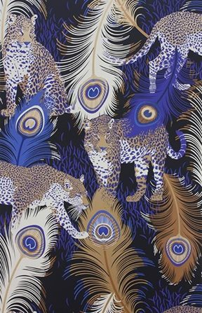Matthew Williamson Leopardo Tapet