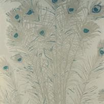 Florence Broadhurst Peacock Feathers Tapet