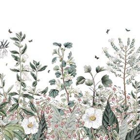 Au fil des Couleurs Botanical Garden Tapet