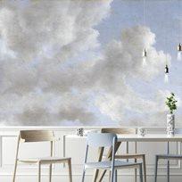 Au fil des Couleurs Monsoon Clouds Tapet